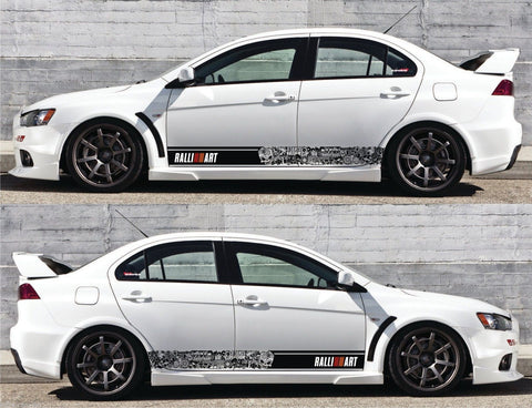 Special Graphic Design And Stickers For Mitsubishi Car Infinity270