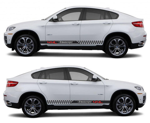 SPK 308 bmw x6 motorsports e71 racing stripes sticker decal euro turbo 4.4l turbocharged sports suv germany fast modified twin turbo - Infinity270