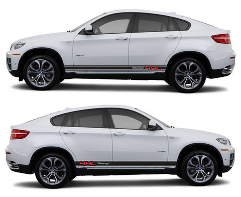 SPK 313 bmw x6 motorsports e71 racing stripes sticker decal euro turbo 4.4l turbocharged boost twin drive fast boost tuned - Infinity270
