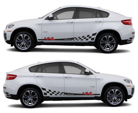 SPK 314 bmw x6 motorsports e71 racing stripes sticker decal euro turbo 4.4l turbocharged boost tuned modified fast oem - Infinity270