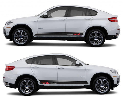 SPK 315 bmw x6 motorsports e71 racing stripes sticker decal euro turbo 4.4l turbocharged boost sport suv tuned fast - Infinity270
