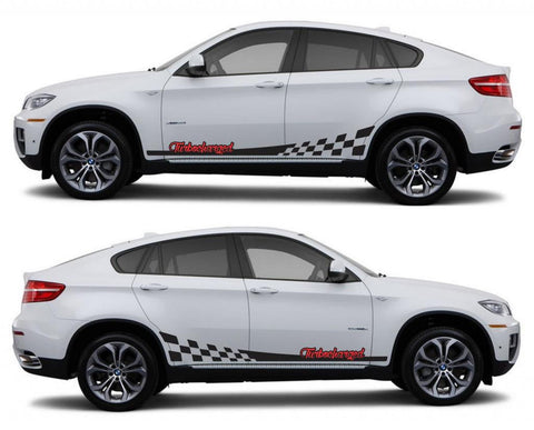 SPK 326 bmw x6 motorsports e71 racing stripes sticker decal euro turbo Turbocharged boost fast drive twin tuned - Infinity270