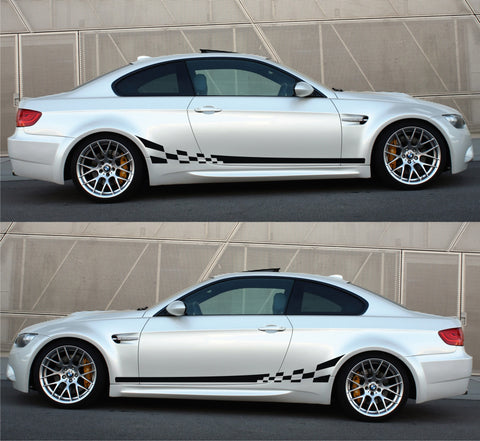 SPK 065 - bmw m3 e92 e93 racing stripes sticker decal kit sports car turbocharged coupe 2 doors germany - Infinity270
