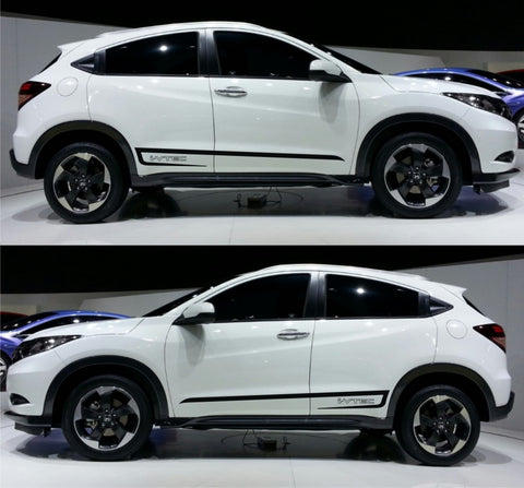 honda stickers hr-v vezel racing stripes sticker decal kit jdm mini suv 1.5L japan mugen spoon subcompact crossover SPK 066 - Infinity270