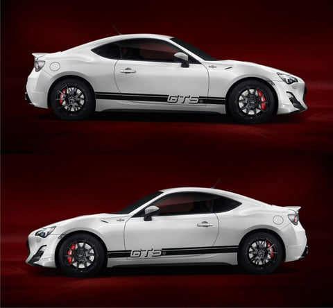 SSK004 - Toyota FT86 GT86 GTS Boxer TRD FR-S Subaru Hachi-Roku Car Stripes Kit Sticker - Infinity270