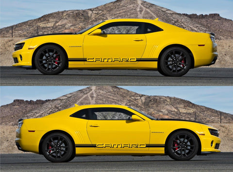Chevrolet Camaro Racing Car Stripes Kit Sticker Yenko SS Z28 GM All Year V2 - Infinity270