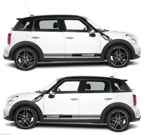 Mini Cooper S Countryman R60 Stripe Kit Sticker Racing Drift Rally BMW Race P4 - Infinity270