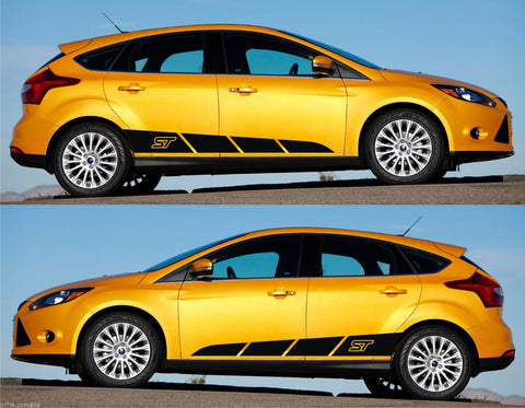 Ford Focus Hatch GDI GDTI 2.0 EcoBoost Racing Stripes Sticker Kit FPV ST