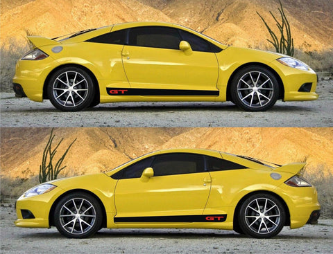 Mitsubishi Eclipse se Special Edition gt Spyder Sport Stripes Sticker Mivec speed fast