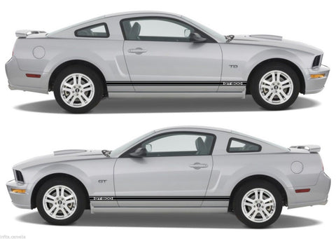 Ford Mustang Shelby gt 500 Racing Car Stripes V6 V8 Kit Sticker drive fast mopar v2 - Infinity270