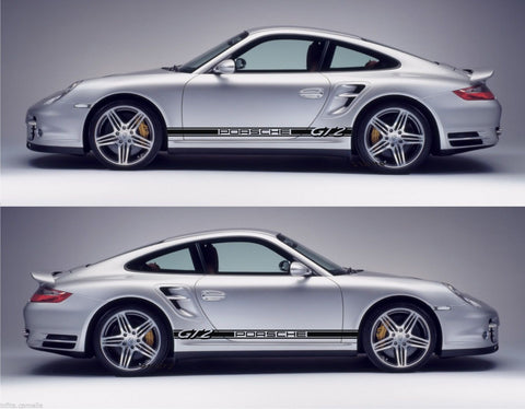Porsche Sticker 991 GT2 993 996 997 Racing Stripes Kit 2 door Coupe Cabrio - Infinity270