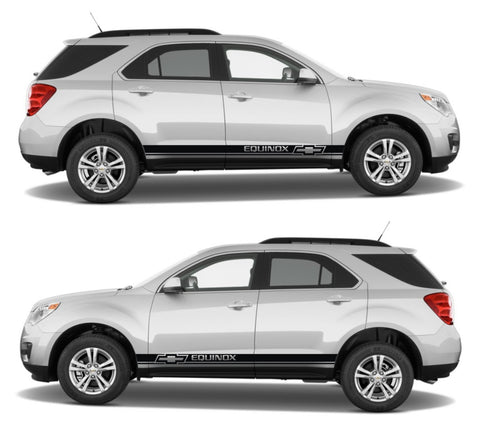Chevrolet Equinox EcoTec 2.4L dohc Drift Racing Side Car Stripes Kit Sticker turbo motorsport - Infinity270