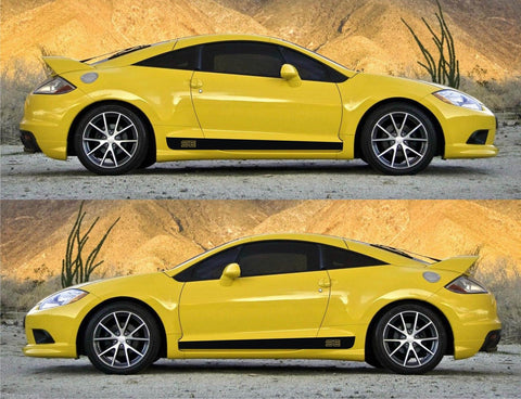 Mitsubishi Eclipse SE Special Edition GT Spyder Sport Stripes Sticker Mivec turbo sport race