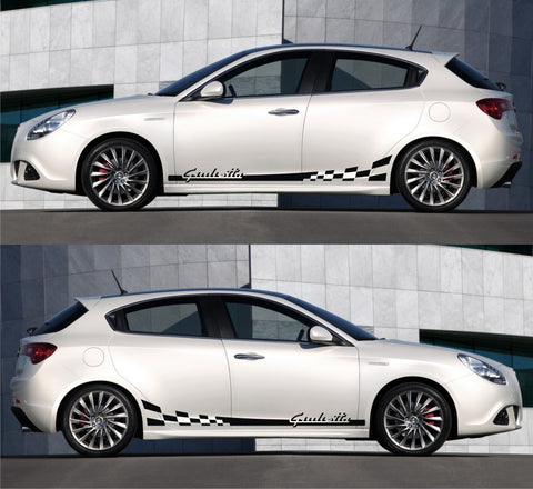 Special Graphic Design And Stickers For Alfa Romeo Car Infinity270