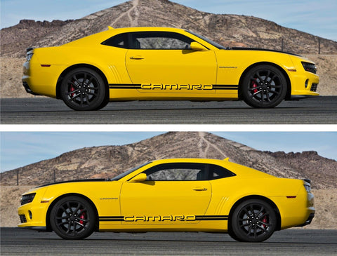 SSK 306 - Chevrolet Camaro Racing Car Stripes Kit Sticker Yenko ss z28 gm All Year Drift - Infinity270