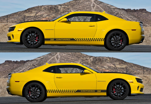 Chevrolet Camaro Racing Car Stripes Kit Sticker Yenko SS Z28 GM All Year V4 - Infinity270