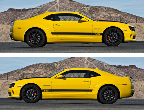 Chevrolet Camaro Racing Car Stripes Kit Sticker Yenko SS Z28 GM All Year V6