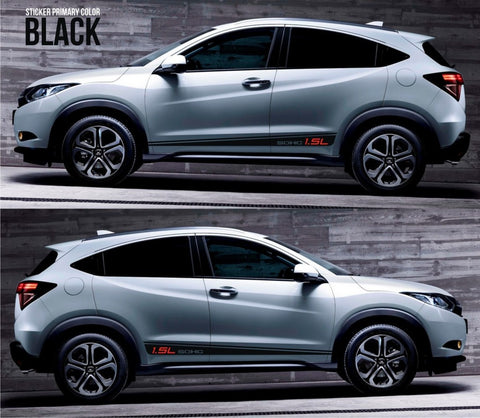 honda stickers hr-v vezel crossover racing stripes sticker decal kit cvt earth dreams suv vti i-vtec sohc clutch hot sexy drift valve oem SSL-048 - Infinity270