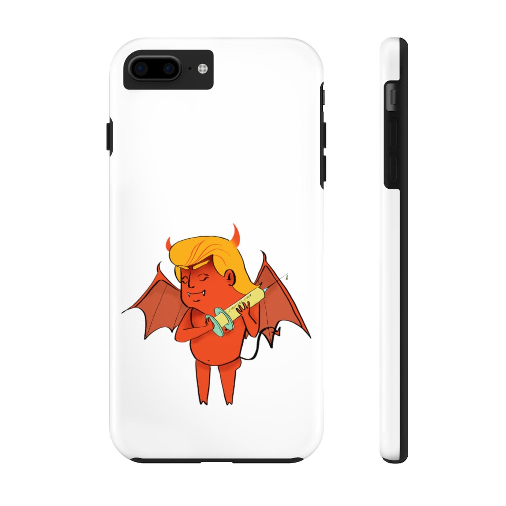 Devil Trump Strong Resistance iPhone Cases (12 Models)