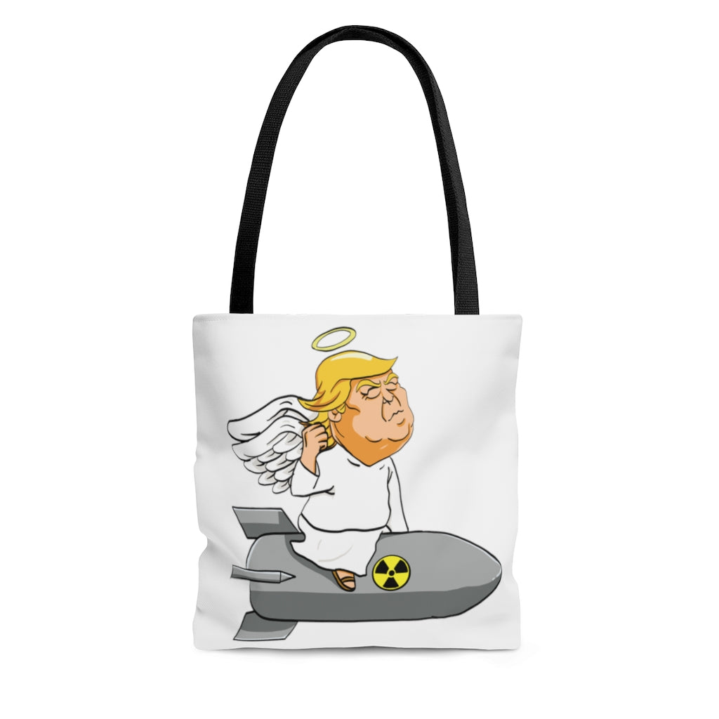 Angel Trump Tote Bag