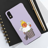 Lilac Angel Trump Strong Resistance iPhone Cases (12 Models)