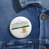 Baby Trump Whitehouse  Pin Buttons