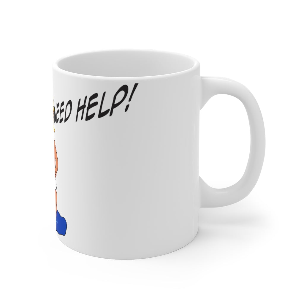 "Baby Trump ""People Need Help"" Mug 11oz"