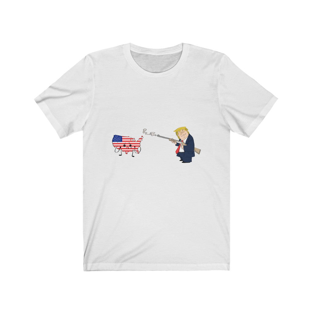 President Trump Right to Bear Arms Unisex Jersey Short Sleeve Tee