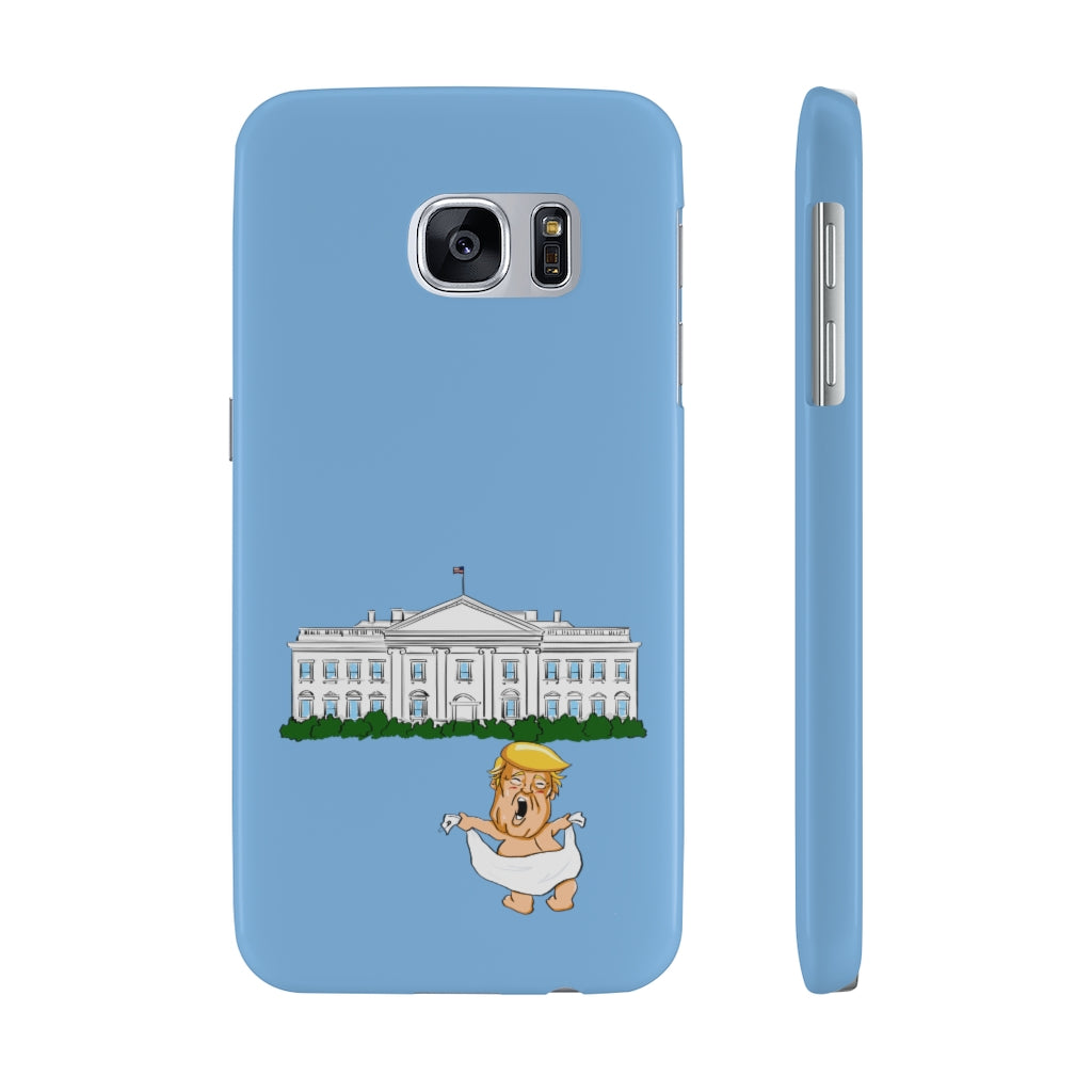 Baby Trump White House Slim Phone Cases (15 models)