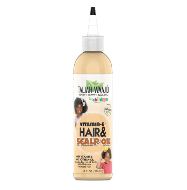 Hair & Scalp Oil With Vitamin-E - CURLS & COILS