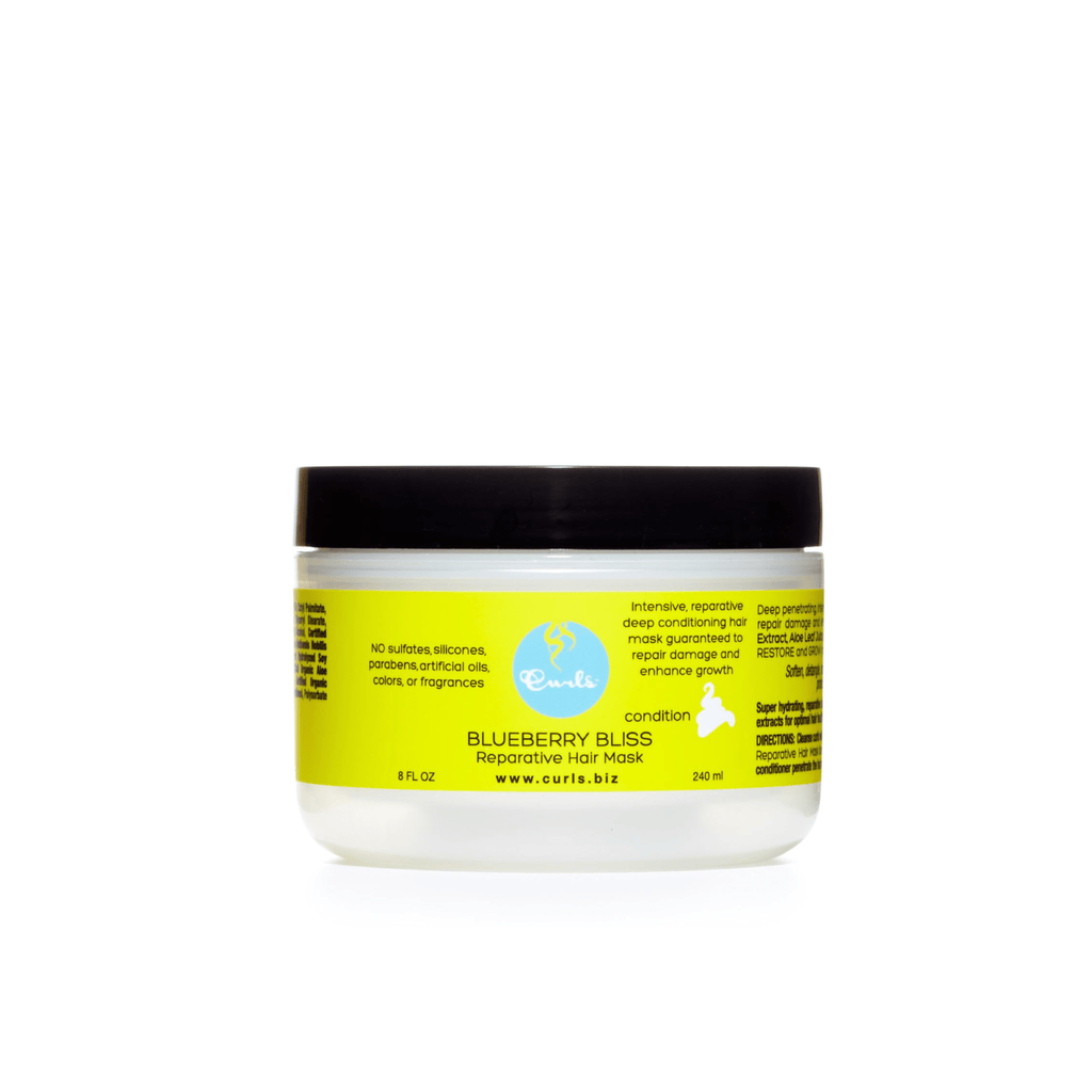 Blueberry Bliss Reparative Hair Mask Review | deep conditioner mask | deep conditioner treatment salon | deep conditioner on natural hair | deep conditioner for curly hair | deep conditioner hair mask | deep conditioner treatment | best deep conditioner for dry hair | curly girl approved deep conditioners | best deep conditioners reviews | curlsandcoils | curls & coils |
