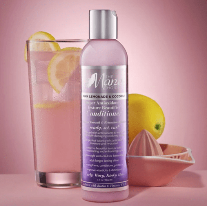 Pink Lemonade - Super Antioxidant & Texture Beautifier Conditioner for curly hair / balsam til naturligt hår/ balsam til krøller - CURLS & COILS