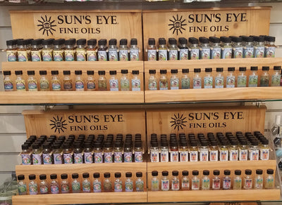 Sun's Eye Fine Oils Roots, Resins & Herbs - Crystal Magic online