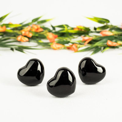 Black Agate Hearts-Crystal Heart-Crystal Magic online