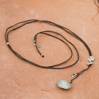 Heart With Flowers Necklace - Crystal Magic online