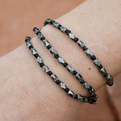 Beaded Silver Bracelet - Crystal Magic online