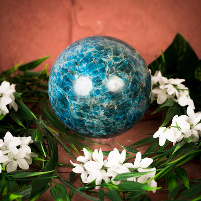 Blue Apatite Sphere - Crystal Magic online