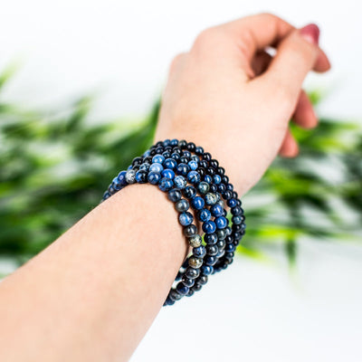 Dumortierite Bracelet - Crystal Magic online