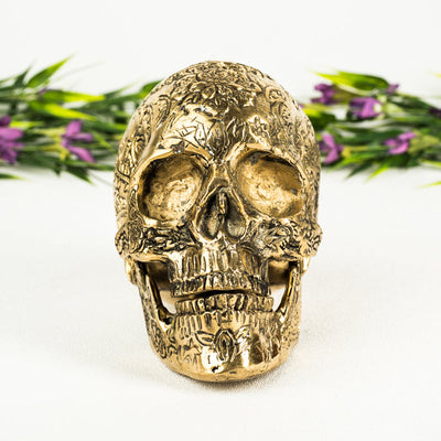 Brass Skull - Crystal Magic online