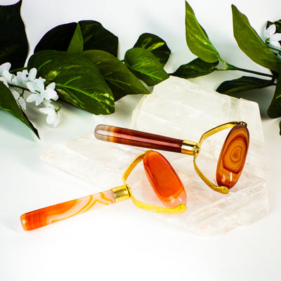 Carnelian Massage Roller - Crystal Magic online