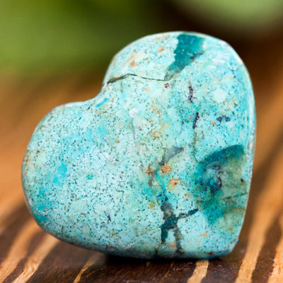Chrysocolla Hearts - Crystal Magic online