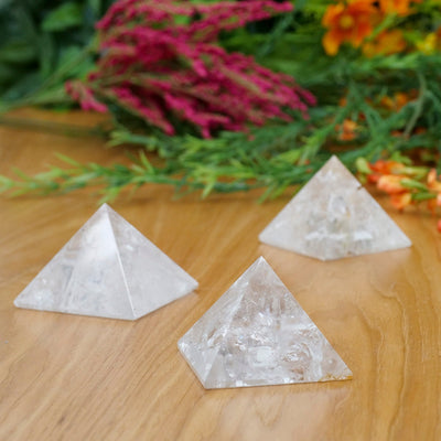 Clear Quartz Pyramids - Crystal Magic online