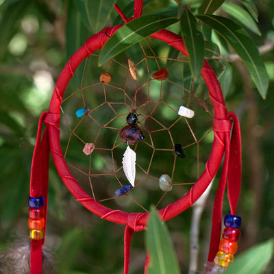 Handmade Dreamcatchers with Gemstones - Crystal Magic online
