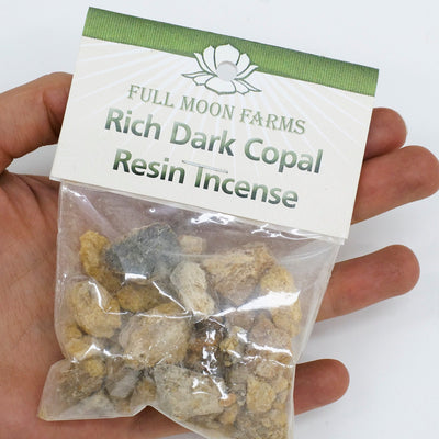 Rich Dark Copal Resin Incense - Crystal Magic online