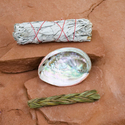 Mini Smudge Kit - Crystal Magic online