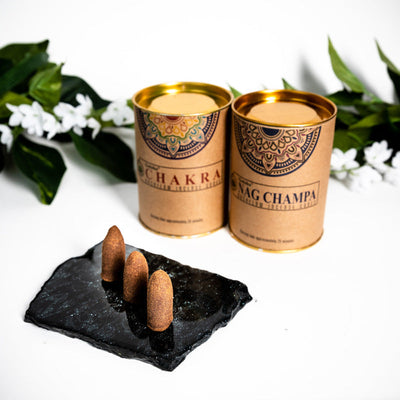 Goloka Backflow Incense Cones - Crystal Magic online