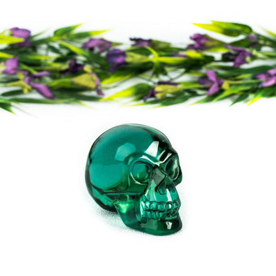 Green Obsidian Skull-Crystal Magic online