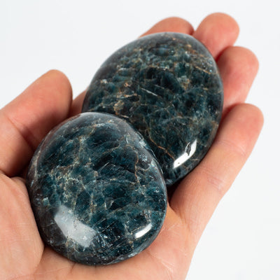 Blue Apatite Palm Stones-Crystal Magic online