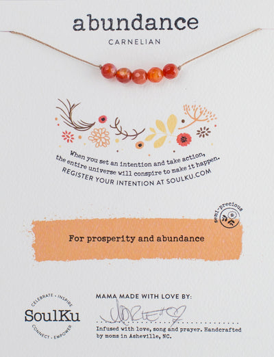 SoulKu Intention Necklaces-Crystal Magic online