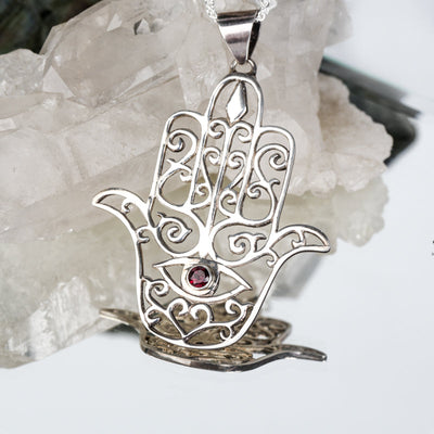 Hamsa Pendant - Crystal Magic online
